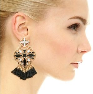 NWT KATE SPADE MORACCAN CHANDELIER EARRINGS